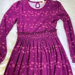 Matilda Jane dress size 8 ruffled skirt